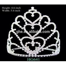Bon service usine directement mariage tiara