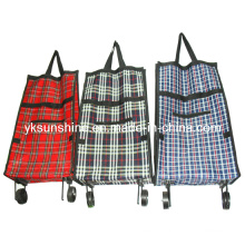 Foldable Wheel Shopping Bag (XY-415D)