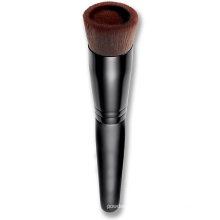 Atacado Private Label Bb Creme Escova com Unique Fluted Hair Liquid Foundation Brush