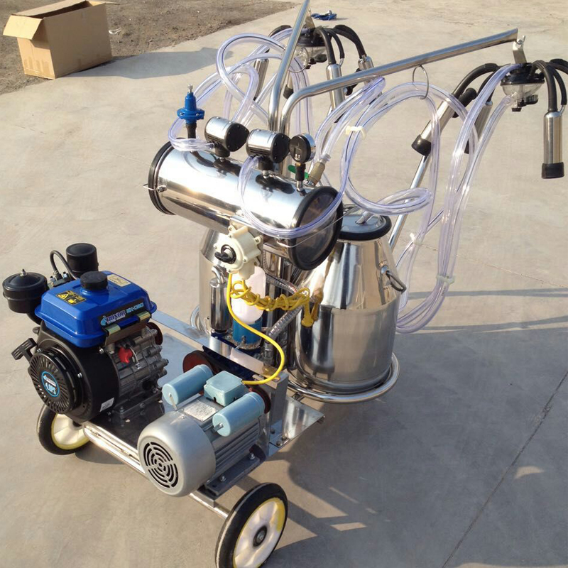milking machine two motors