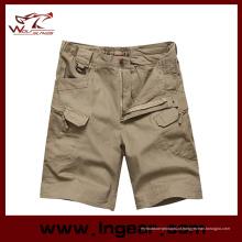 Calças curtas tático militar estilo Zip Pereira à venda
