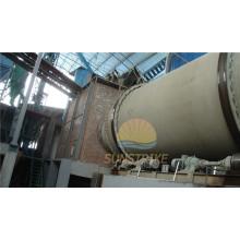 Industrial usada sílica areia secador giratório de Sunstrike