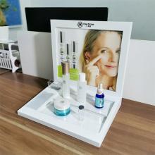 Présentoir acrylique de bureau de cosmétiques présentoir acrylique