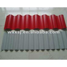 prepintada galvanizada trapezoidal para techos de chapa de acero