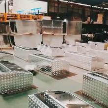 Atacado Duplo Ferro Fio Caixas De Ferramentas De Alumínio Para Tronco Do Carro Atacado Duplo Ferro Fio Caixas De Ferramentas De Alumínio Para Tronco Do Carro