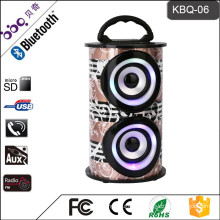 2017 Karaoke Fitting Wireless Speaker In Shenzhen BQB certificate bluetooth speaker with buddy jack function
