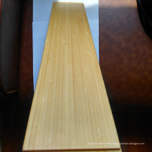 Plancher en bambou vertical UV avec couleur naturelle