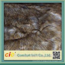 Fourrure de renard de haute qualité pour le manteau