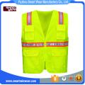 Hola vis ropa de trabajo chaleco reflectante de seguridad para el camino