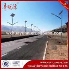 2016 Productos de iluminación de ahorro de energía luz de calle solar de viento poste de lámpara al aire libre
