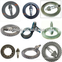 various kinds of axle parts Crown Wheel and Pinion