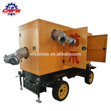 Hot selling farmland irrigation for mobile diesel engine pump unit
