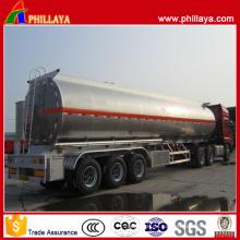 3 Marken-Achsen-Aluminiumbehälter-Kraftstofftransport-halb Anhänger