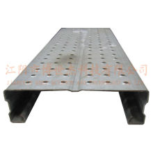 Andaime de aço galvanizado perfurado Andaimes