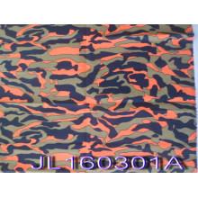 Orange Feuer Stil Polyester Rip-Stop Camouflage Baumwollstoff