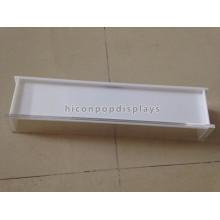 Стол Верхний свет Белый один бальзам для губ акриловые Дисплей стенд, изготовленный на заказ Размер 3мм ларец дисплея