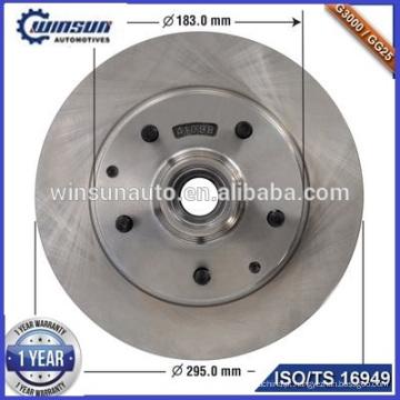 Montagem do cubo 52008218 Rotor do disco de freio se encaixa DODGE