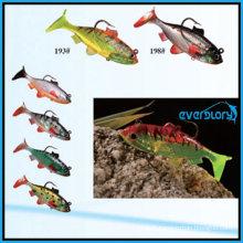 6cm/8cm/10cm Leurre de pêche au leurre souple en plomb populaire