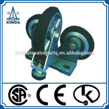R3 sapato de guia de rolos para contrapeso para elevador de alta velocidade peça de reposição elevador