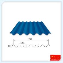 China chapa de aço pré-fabricada de alta qualidade para telhado ou parede