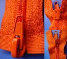 Auto Lock Close End with Two Slider Nylon Zipper