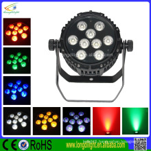 The Newest 9*10W RGBW 4in1 LED Waterproof PAR Light with wireless and battery