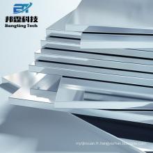 Utilisation pour les plaques d'alliage d'aluminium 6083 6061 moyennes et lourdes