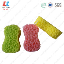 Waves style absorbent bath sponge