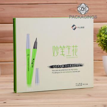 Embalaje cosmético de lujo personalizado caja hecha a mano