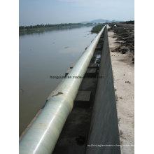 Проект отведения воды используются стеклопластиковые трубы