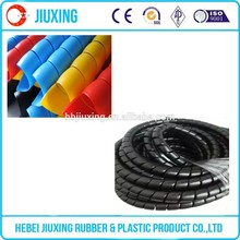black durable spring hose sleeve guard protector for rubber hose hydraulic hose