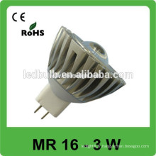 Aluminium MR 16 3w conduit spot light best seller product