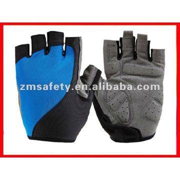 Gel padded short finger cycling glove