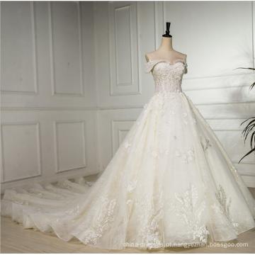 O novo 2018 de alta qualidade mais recente vestido de noiva vestido de noiva, projetos de vestido de casamento, muçulmano vestido de noiva vestido de casamento
