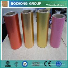 Bobine en aluminium enduite de couleur de 7022 pour la feuille de toiture