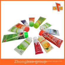 Guangzhou fabricante de impresión al por mayor y material de embalaje personalizado autoadhesivo pegajosa impresión de etiquetas multicapa