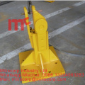 Tower crane reusable fixing foot
