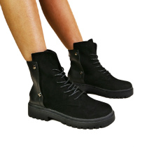 Black Breathable Fashionable Beautiful Hot Sale Boots Women for Ladies Light Winter Height Increasing boots