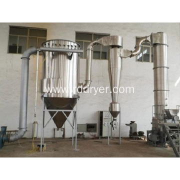 Flash drying machine of synthetic cryolite