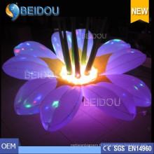 Fête de mariage Evénements Etapes Décorations LED Fleurs gonflables allumées