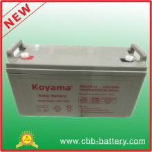 Batterie au gel tubulaire Opzv 12V120ah de batterie solaire à plus longue durée de vie
