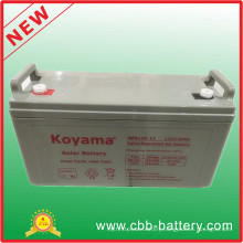 Longest Life Battery Solar Battery 12V120ah Opzv Tubular Gel Battery