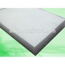 Medio de filtro de poliéster no tejido utilizado en los medios de filtro de la cabina de pulverización / cabina de pintura