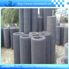 Malha de arame quadrada usada como vedação ou filtro
