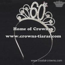 Fashion Alloy Crystal Princess Birthday Crowns