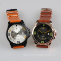 date movement watch stainless steel back water resistant watch
