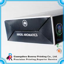 Glossy Laminierung schwarz Custom Packaging Design Parfüm