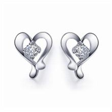 925 Jóias de Prata Stud Earrings para Mãe