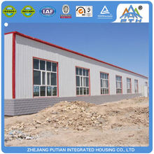 Cheap easy build auto Rolling Shutter construction structure atelier