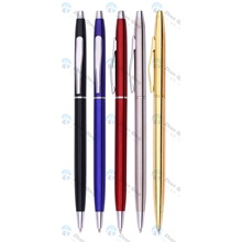 Aluminum Ballpoint Pen with Engraved Custom Logo